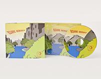 Bizarre Heroes CD Packaging