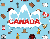 Canadian Stereotypes Poster