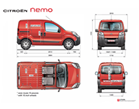 ETAI pour CITROËN - NEMO Press kit