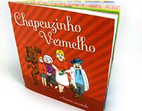 Livro - Chapeuzinho Vermelho, a história recontada