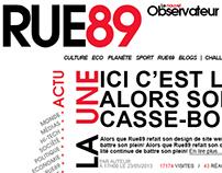 Typographic Rue89