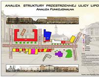Analiza Struktury Przestrzennej ulicy Lipowej