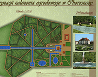 Koncepcja rewaloryzacji założenia ogrodowego