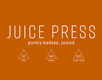 Juice Press Rebranding + Packaging