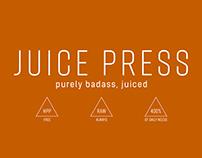 Juice Press Rebranding + Packaging