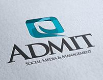 Admit Social Media & Managment Logo