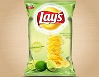Desenvolvimento de embalagem promocional - Batata Lay's