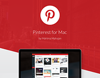 Pinterest for Mac Concept