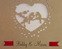 B&M Wedding Invitation