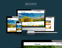 Biocrop - Responsive Website