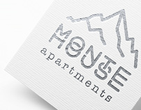 Monte House Apartments - prints, UI & UX design