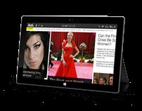 AOL.com iPad App