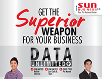 SUN BUSINESS Call & Data Unlimited Ads