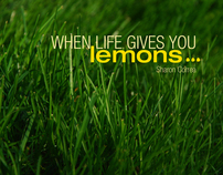 Title Sequence: When Life Gives You Lemons