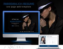 Me - Portfolio & Resume / CV PSD Template