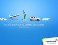 Bancolombia millas viajes