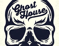 Ghost House Illustration