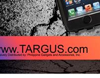 TARGUS HARD CASE PRINT AD