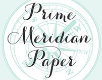 Prime Meridian Paper