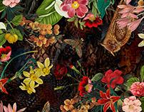 Textile Pattern Print - F/W 2015