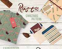 Rustic Christmas Element & Pattern