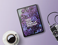 Free iPad Display Mockup