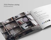 2016 Photive catalog design