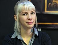 Maria Roca, A Lady Tattoo Artist