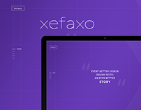 XEFAXO - Landing Page Template Design