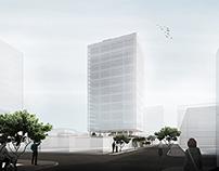 Projeto VIII | Edifício Comercial Entreparques