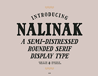 NALINAK - FREE ROUNDED SERIF FONT