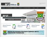 Homepage BP2T Kab. Tangerang