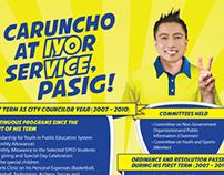 IYO CARUNCHO Political Campaign