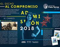 Campaña Admisión 2018 U Finis Terrae