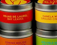 El Mexicano Spice Packaging