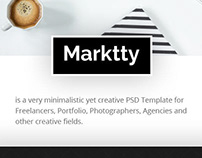 Marktty - Creative Agency PSD Template