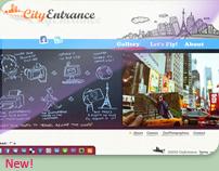 Designing Cityentrance.com