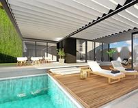 Pool Area / Área de Lazer