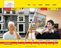 SUN International Services Website