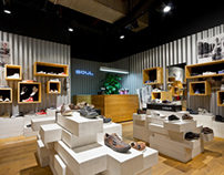 SOUL- concept shop for a chain of stores by A+D
