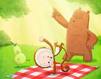 The Pear, The Bear & The Monkey