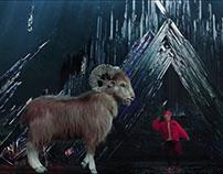 LAY YIXING《SHEEP》Hologram Design @水立方