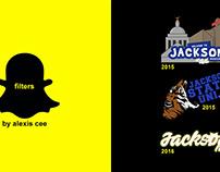 Snapchat Geofilter's for Jackson, Mississippi