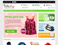 Villa Shop, Opencart Fashion/Kitchen/Fitness Theme