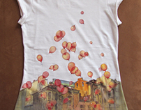 hand-painted t-shirts