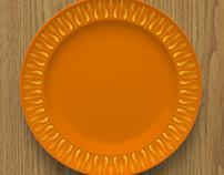 Fanfare tableware variations