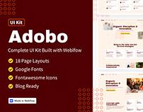 Adobo - UI Kit Built with Webflow