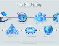 Blu Group Icon set