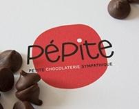 PÉPITE. petite chocolaterie sympathique