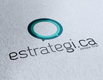 Estrategi.ca - Redesign Identidade Visual